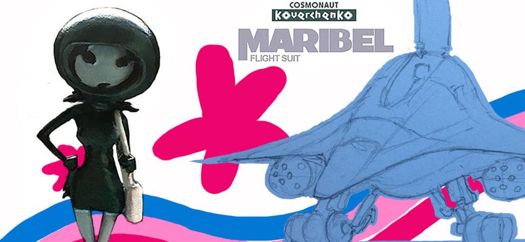MARIBEL IN FLIGHT SUIT – Cusvenia Universe
